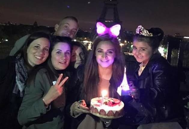 See Noor Bukhari Celebrated her Birthday in Paris