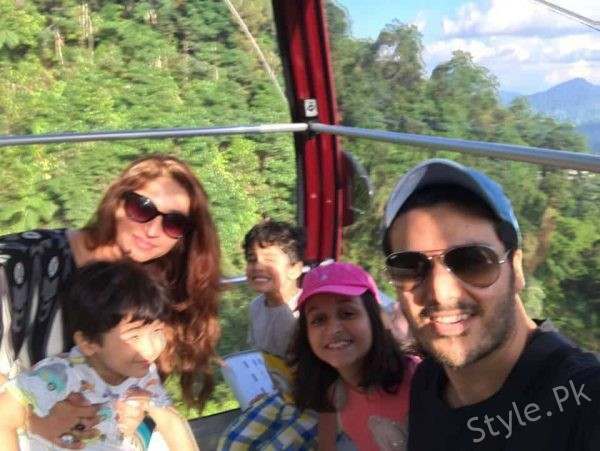 See Ahsan Khan is Vacationing in Malaysia