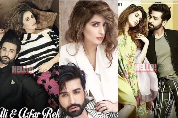 See Iman Ali and Azfar Rehman's Photoshoot for Hello Pakistan
