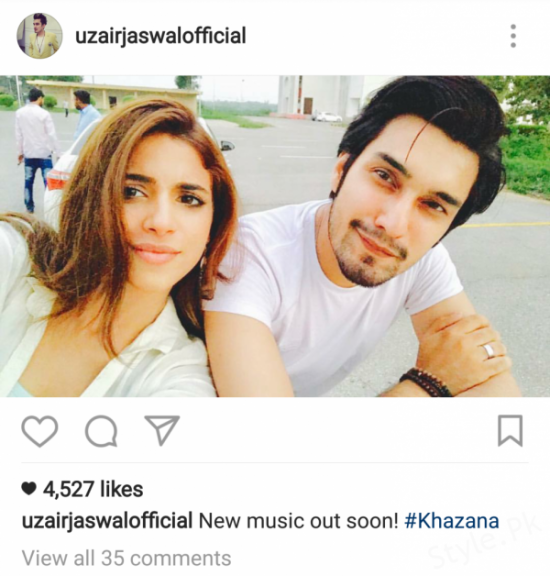 Uzair Jaswal New Music Video