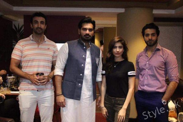 See Syra Shehroz and Sheryar Munawar Started Promotions of Film Ghazi