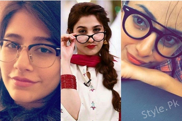 See Pakistani Actresses Rocking Glasses