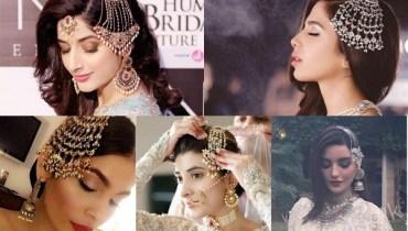 See Pakistani Celebrities in Side Jhoomars