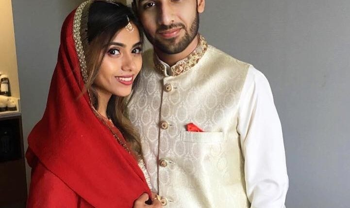 See Zaid Ali with Wife
