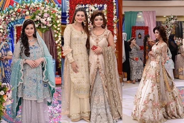 See Beautiful Pakistani Bridal Walima Dresses
