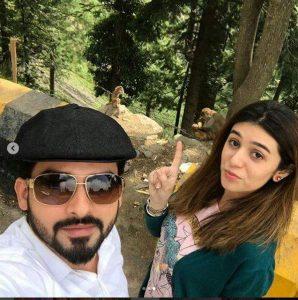 Noman Habib and Asma Habib spending time together