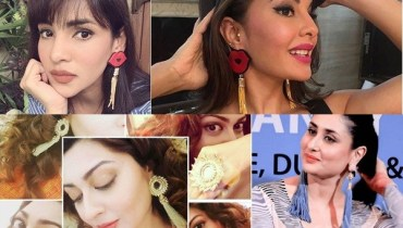 See Handmade Earrings for Eid ul Azha 2017