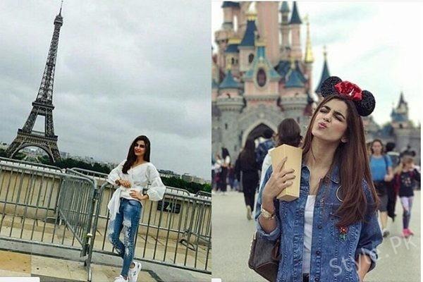 See Maya Ali Vacationing in Paris