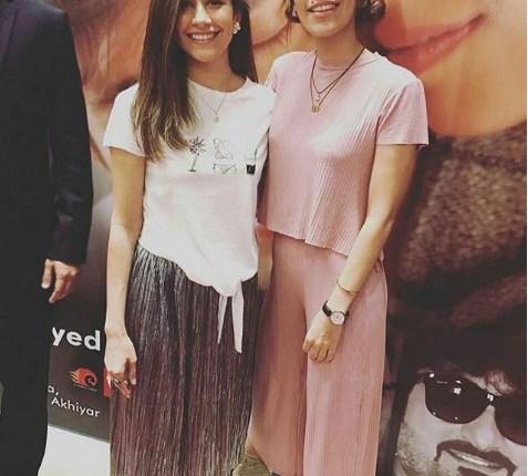 See Syra Shahroz and Palwasha Yousuf at Chain Aye Na Premier