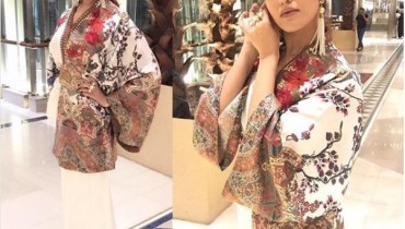 See Hareem Farooq Rocking these Tassel Earrings