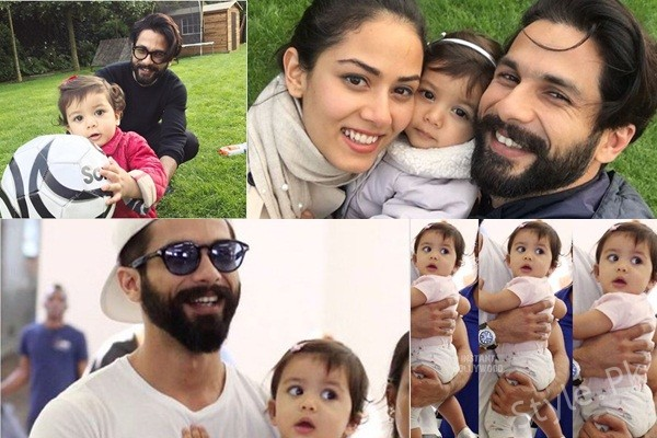 See Shahid Kapoor's Family Pictures