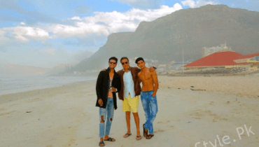 see Picture of Boys from Behind the Scenes of Na Maloom Afraad 2!