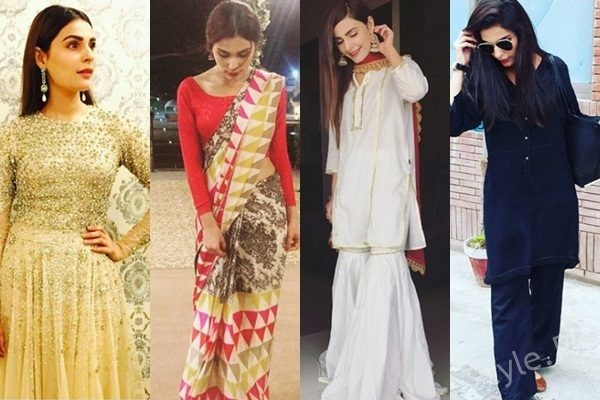 See Top 10 Beautiful Dresses of Sadia Ghaffar