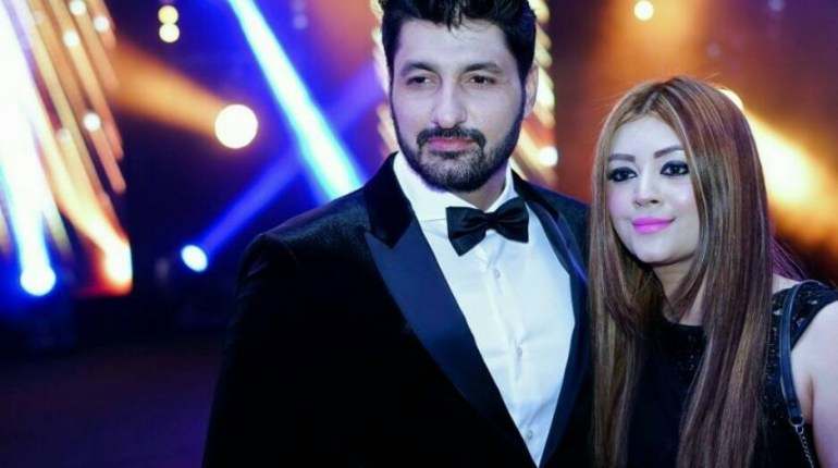 See Syed Jibran with his Wife at IPPA Awards 2017