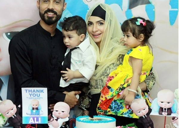See Dua Malik celebrated her son's first birthday