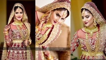 See Sheen Javed beautiful Bridal Photoshoot