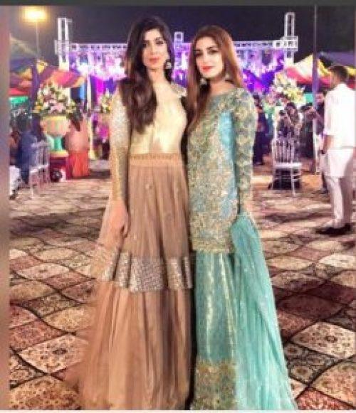 Stunning Maya Ali at Abdullah Sultan's Mehndi