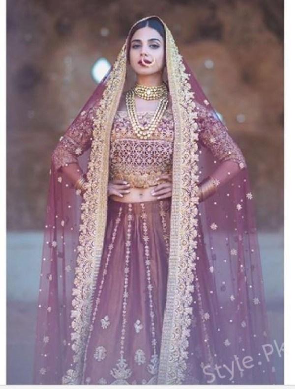 Latest Bridal Shoot Of Stunning Sonya Hussyn