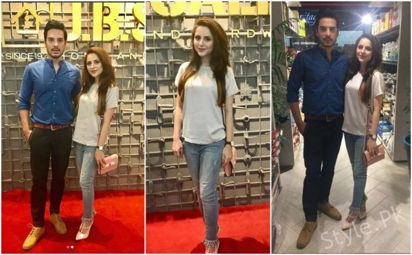 Fatima Effendi And Kanwar Arsalan At The Launch Of JBSaeedHome