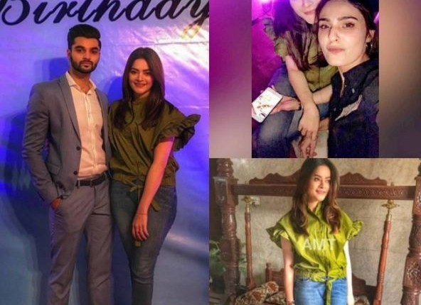 Minal Khan Spotted At Birthday Party Last Night