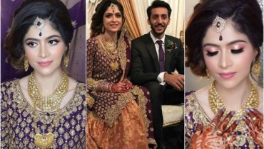 Arij Fatyma Looks Stunning On Her Reception In Canada