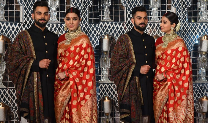 Anushka And Virat Kohli Dance At Their Wedding Reception