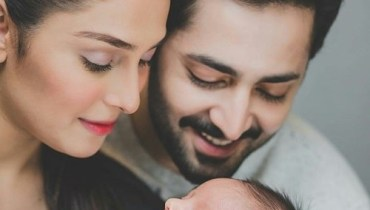 Ayeza Khan Adorable Family Photoshoot