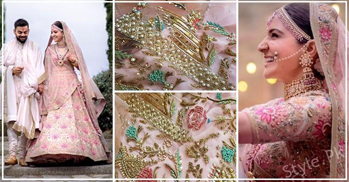 Pakistani Designer Dress And Anushka Sharma Bridal Lehenga