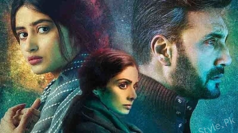 Sridevi Thanks Adnan Siddiqui And Sajal Aly For Her Mom Best Actress Award, sajal aly with adnan siddiqui, Mom Best actress award