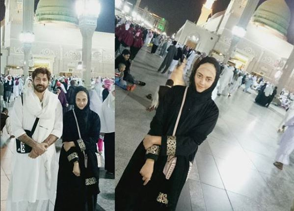 Syed Jibran Performed Umrah with his Wife And Kids