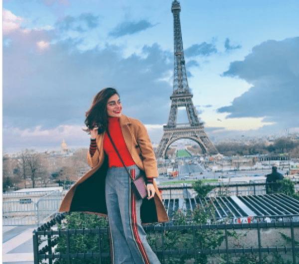 Pictures Of Sadaf Kanwal And Alizay Gabol Vacationing In Paris