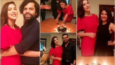 Mehwish Hayat Celebrates Her Birthday In Dubai With Her Friends