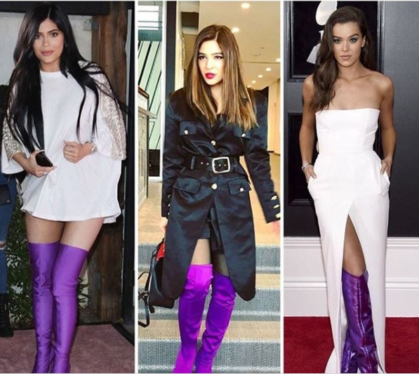 See Dramatic Thigh high Boots are the talk of town