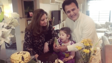 Syra Shahroz Daughter Singing A Song For Her Grandfather On His Birthday