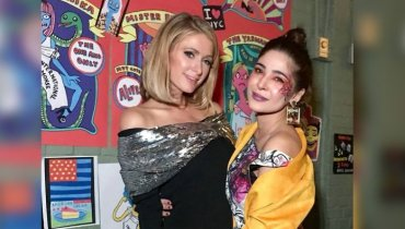 Ayesha Omar Picture With Paris Hilton
