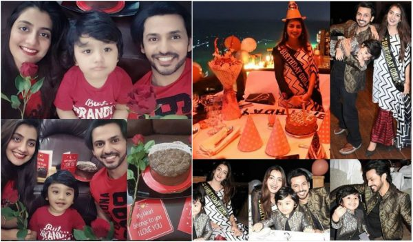 See Uroosa Qureshi Celebrated her Birthday with her Family