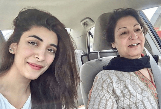 Urwa Hocane with her Mother in Law