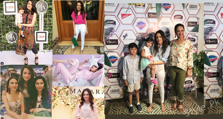 Latest Clicks of Bushra Ansari's Daughter Model Meera Ansari