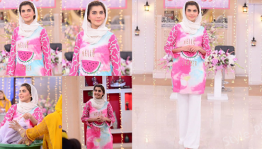 Beautiful Nida Yasir In Good Morning Pakistan Morning Show