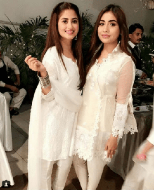 Sajal Aly and Ahad Raza Mir Spotted Together At Iftar Party