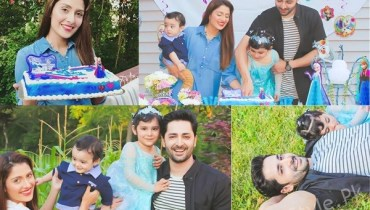 See Ayeza Khan's Daughter Hoorain Taimoor's 3rd Birthday Celebration