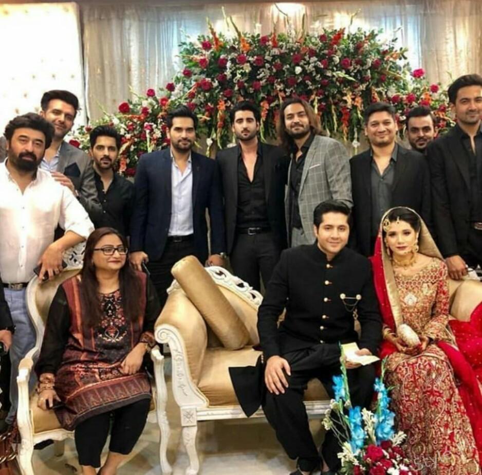 Imran Ashraf got married to Khasra actress Kiran Ashfaq