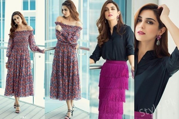 See Maya Ali in Dubai during promotion of Teefa In Trouble