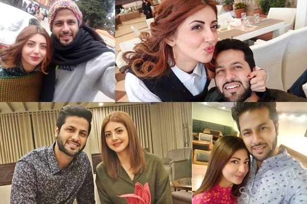 See Moomal Khalid's Recent Pictures with her Husband
