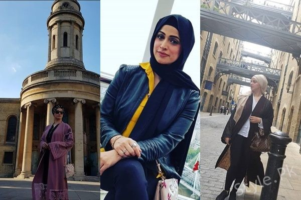 See Noor Bukhari's Pictures From London Tour