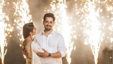 See Ayeza Khan and Danish Taimoor Celebrating 4 Years of Love