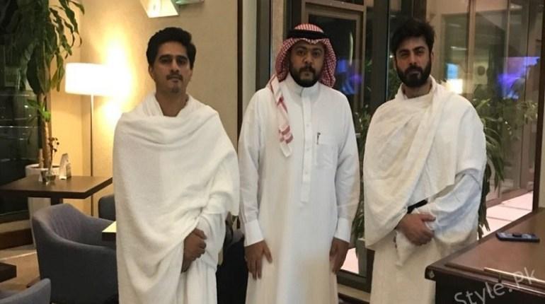 See Fawad Khan Performed Hajj and Represented Pakistan at Closing of Hajj