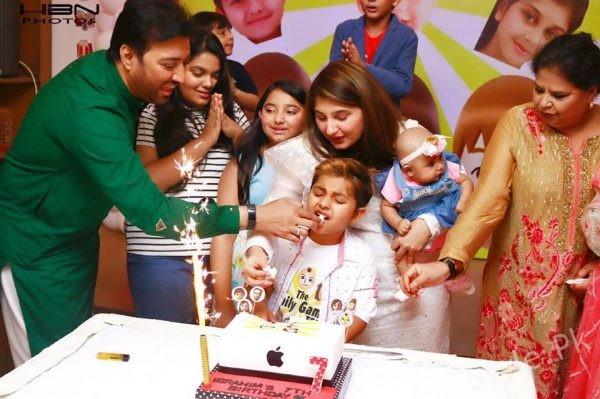 See Javeria Saud's Son Ibrahim's Birthday Celebrations