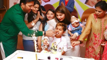 See Javeria Saud's Son Ibrahim's Birthday Celebrations