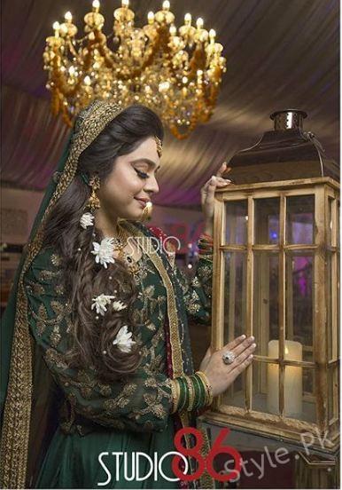 First Look Of Gorgeous Sara Razi Khan At Her Mehndi